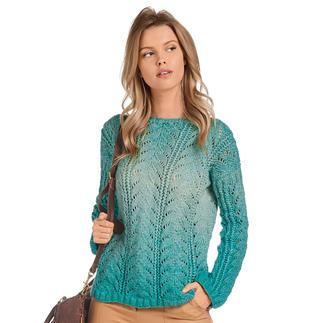 Anleitung 032/0, Pullover aus Pastellico von Junghans-Wolle