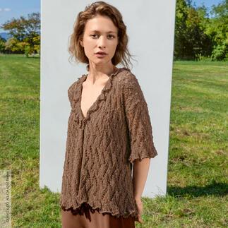 Anleitung 056/0, Pullover aus Marlene Luxe von LANG Yarns