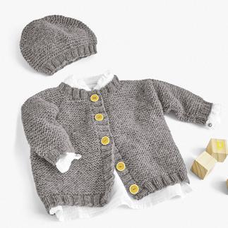 Anleitung 086/0, Jacke und Mütze aus Cassandra von Junghans-Wolle