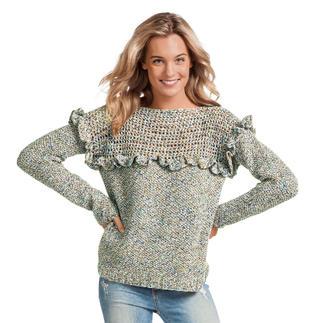 Anleitung 158/0, Pullover aus Lysander von Junghans-Wolle