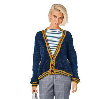 Anleitung 168/0, Jacke aus Teddy® und Merino-Cablé von Junghans-Wolle