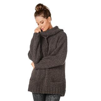 Anleitung 171/0, Damenpullover aus Cara und Merino-Extrafein von Junghans-Wolle