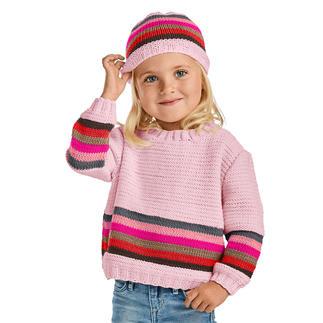 Anleitung 288/0, Pullover und Mütze aus Merino-Cotton von Junghans-Wolle