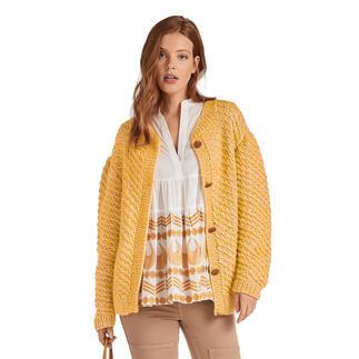 Anleitung 313/0, Jacke, 2-fädig aus Alpaca-Cotton und Varese von Junghans-Wolle