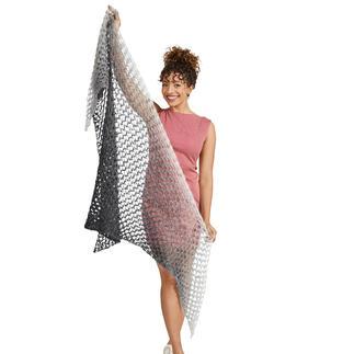 Anleitung 325/0, gehäkeltes Tuch aus Lace von Woolly Hugs
