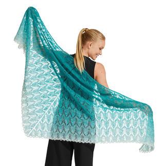 Anleitung 326/0, Tuch ca. 190 x 90 cm aus Lace von Woolly Hugs