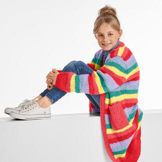Materialpackung 380/0, Kinder-Cardigan