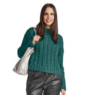 Anleitung 444/0, Pullover aus Feelana von Junghans-Wolle