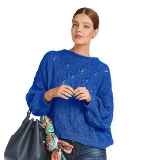 Anleitung 021/1, Pullover aus Cotton-Superfine II von Junghans-Wolle