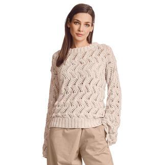 Anleitung 102/1, Pullover aus Ribolli von Junghans-Wolle