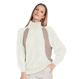Anleitung 108/1, Pullover aus Cielo von Junghans-Wolle