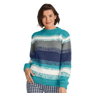 Anleitung 116/1, Pullover 2-fädig aus Aparta-Nova von Junghans-Wolle