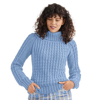 Anleitung 119/1, Pullover aus Peru von Junghans-Wolle