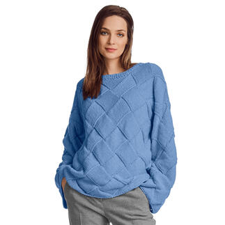 Anleitung 135/1, Pullover aus Recycle & Wool von Junghans-Wolle