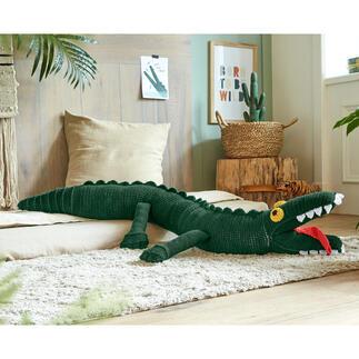 Anleitung 206/1, Krokodil aus Poco von Junghans-Wolle Anleitung 206/1, Krokodil, Länge ca. 145 cm aus Poco von Junghans-Wolle