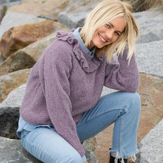 Anleitung 237/1, Pullover aus Fashion Skinny Alpaca aran von Rico Design