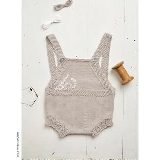 Anleitung 245/1, Baby-Strampler aus Baby Pure Cotton von Anchor