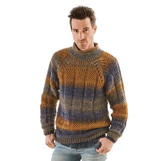Anleitung 256/1, Pullover aus Monello-90 Color von Junghans-Wolle
