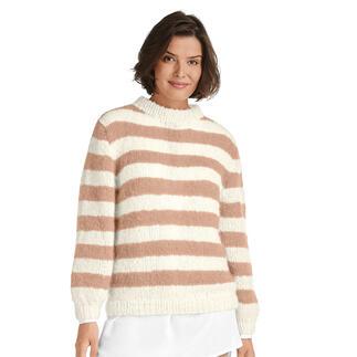 Anleitung 268/1, Pullover aus Feelana von Junghans-Wolle