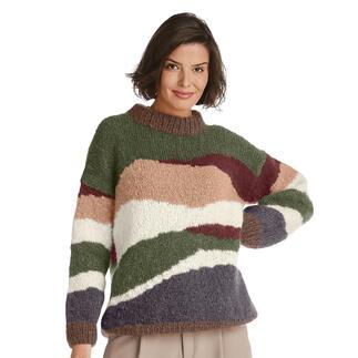 Anleitung 269/1, Pullover aus Feelana von Junghans-Wolle