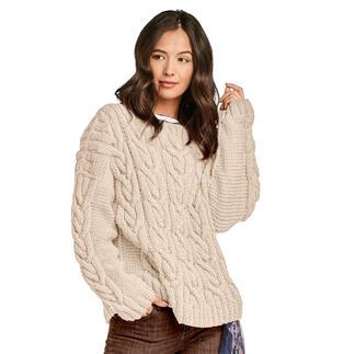 Anleitung 280/1, Pullover aus Monello-90 Uni von Junghans-Wolle