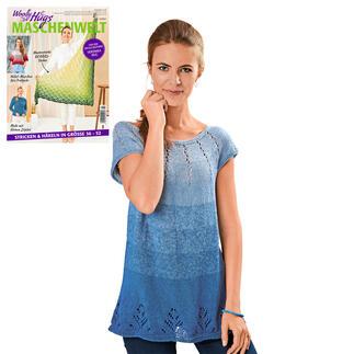 Anleitung 355/1, Pullover aus Bobbel Cotton XXL von Woolly Hugs