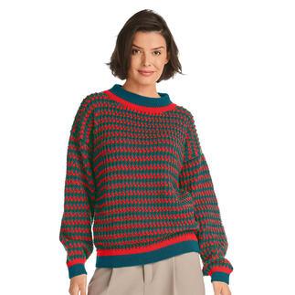 Anleitung 367/1, Pullover aus Nuovo Merino 180 von Junghans-Wolle