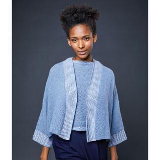 Anleitung 375/1, Kimonojacke aus Milano von Lamana