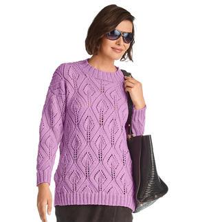 Anleitung 387/1, Pullover aus Inja von Junghans-Wolle