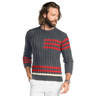 Anleitung 394/1, Pullover aus Merino-Cotton von Junghans-Wolle
