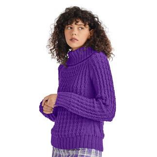 Anleitung 401/1, Pullover aus Peru von Junghans-Wolle
