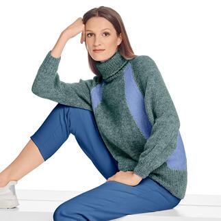 Anleitung 405/1, Pullover aus Cielo von Junghans-Wolle