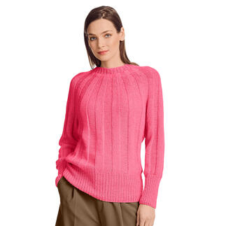 Anleitung 422/1, Pullover aus Recycle & Wool von Junghans-Wolle
