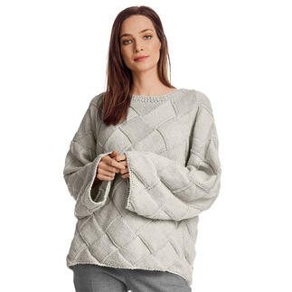 Anleitung 423/1, Pullover aus Recycle & Wool von Junghans-Wolle