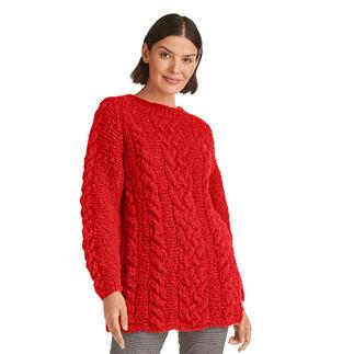Anleitung 426/1, Pullover aus Cara von Junghans-Wolle