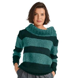 Anleitung 427/1, Pullover aus Merino-Classic und Feelana von Junghans-Wolle