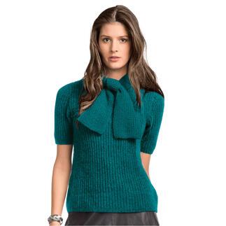 Anleitung 430/1, Pullover mit Schal aus Kaschmir von Junghans-Wolle