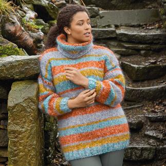 Anleitung 465/1, Pullover aus Tweed Haze von Rowan