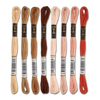 Anchor-Sticktwist Braun/Rot/Beige Sie haben eine riesige Farbauswahl. Erleben Sie den Spass an kreativer Handarbeit mit brillanten Farben.