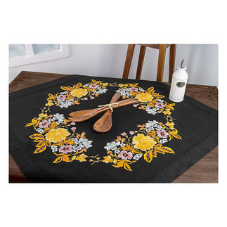 Tischdecke - Rose und Iris Tischdeckenmotive