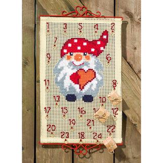 Adventskalender - Wichtel mit Herz Weihnachtszeit ist Wichtelzeit.