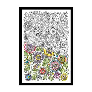 Floral, Stickbild Zenbroidery – Die Kunst des freien Stickens