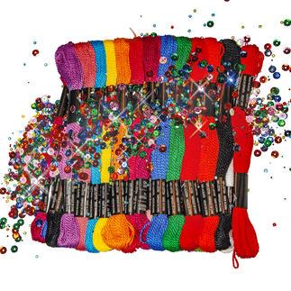 Perlgarn-Set - Multi-Color
