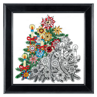Zenbroidery-Stickbild - Christmas Tree
