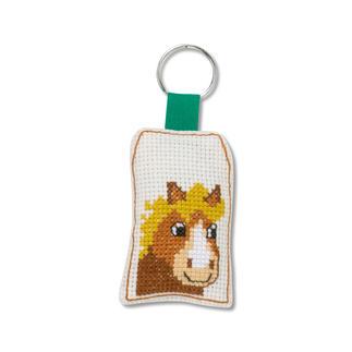 Tierische Schlüsselanhänger - Pferd