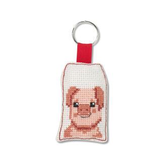 Tierische Schlüsselanhänger - Schwein