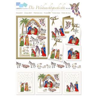 Kreuzstich-Zählmuster-Vorlagen - Die Weihnachtsgeschichte Zeitlose Weihnachts-Klassiker.