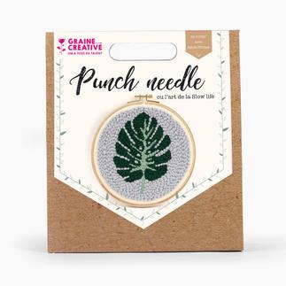 Punch-Needle-Kit - Blatt