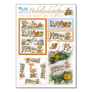 Kreuzstich-Zählmuster-Vorlagen - Herbstlandschaften