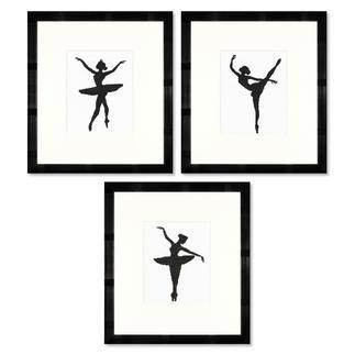 Stickbilder - Ballett-Silhouetten